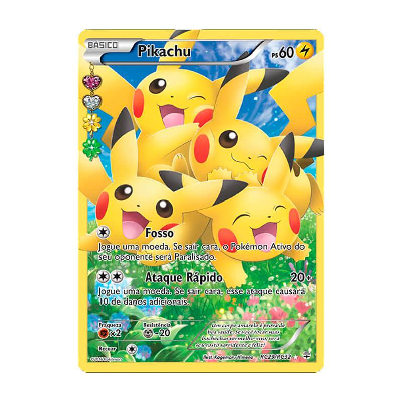 Pokémon TCG: Pikachu (RC29/RC32) - Gerações