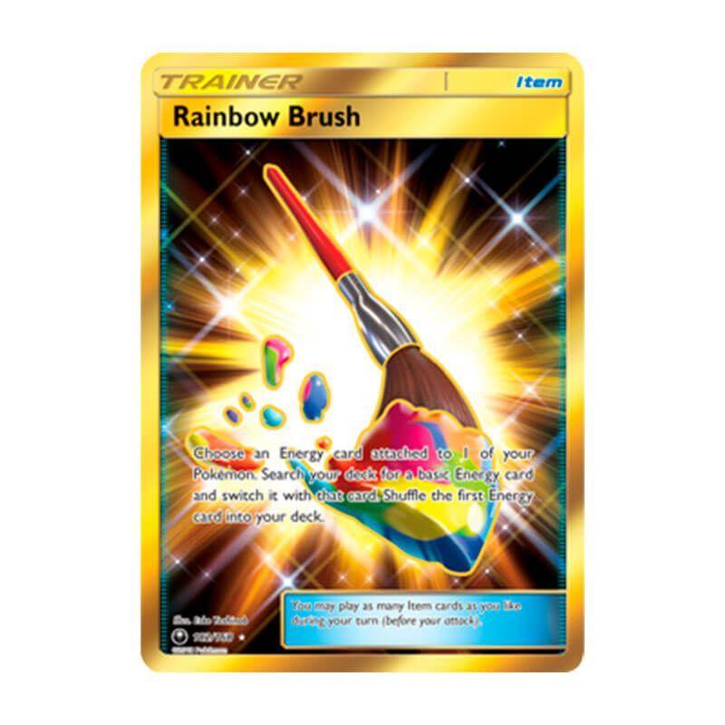 Pokémon TCG: Pincel Arco-Íris (182/168) - SM7 Tempestade Celestial