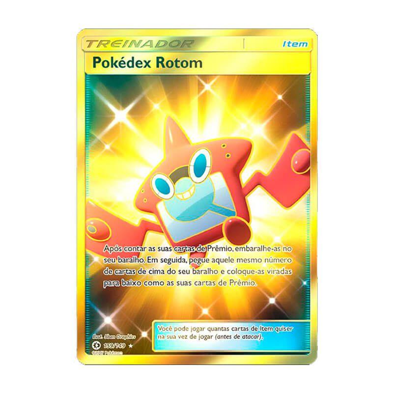 Pokémon TCG: Pokédex Rotom (159/149) - SM1 Sol e Lua