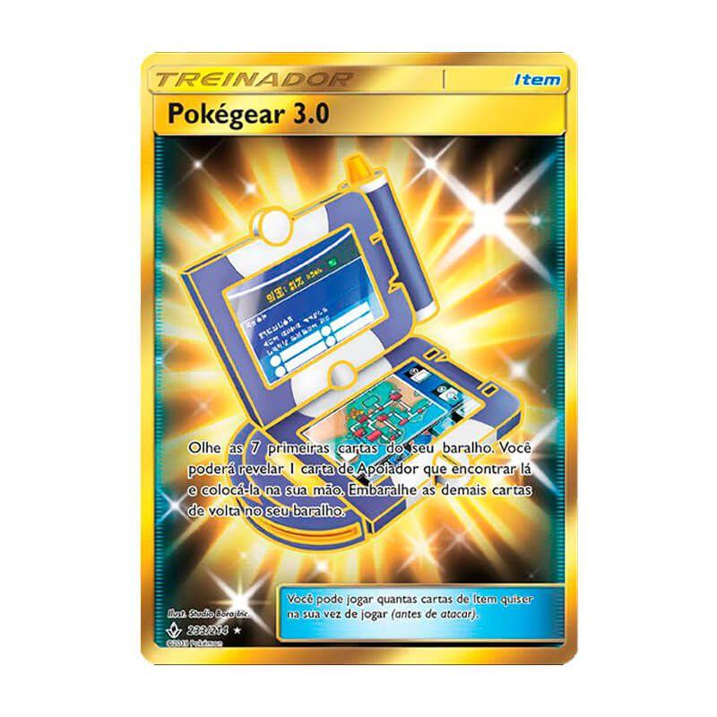 Pokémon TCG: Pokégear 3.0 (233/214) - SM10 Elos Inquebráveis