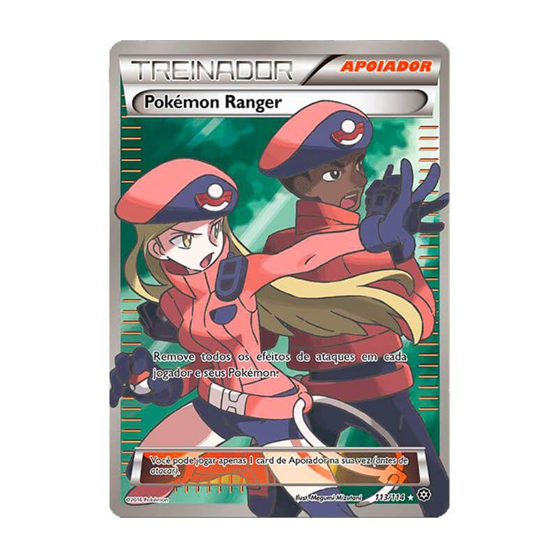 Pokémon TCG: Pokémon Ranger (113/114) - XY11 Cerco de Vapor
