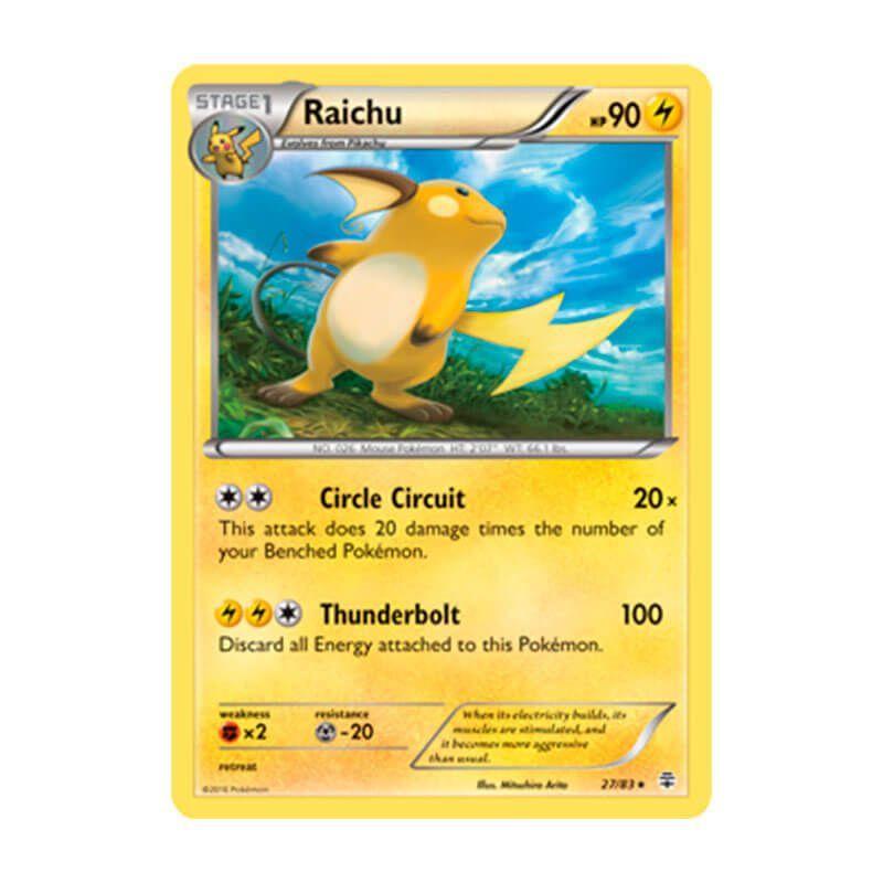 Pokémon TCG: Raichu (27/83) - Gerações