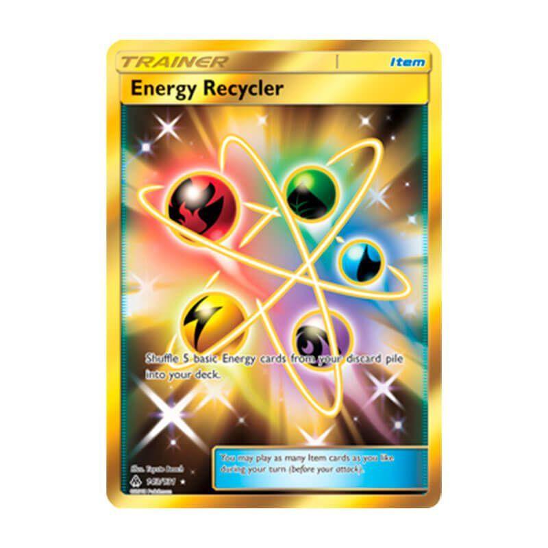 Pokémon TCG: Reciclador de Energia (143/131) - SM6 Luz Proibida