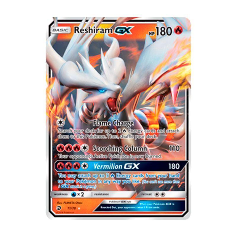 Pokémon TCG: Reshiram GX (11/70) - SM7.5 Dragões Soberanos
