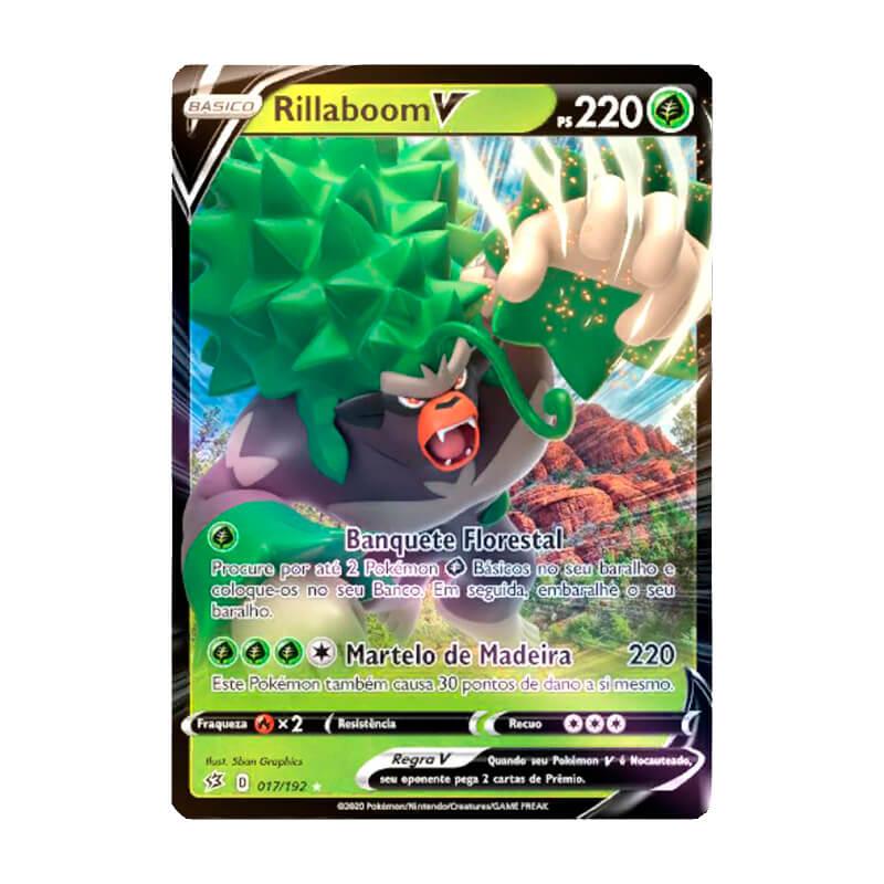 Pokémon TCG: Rillaboom V (17/192) - SWSH2 Rixa Rebelde