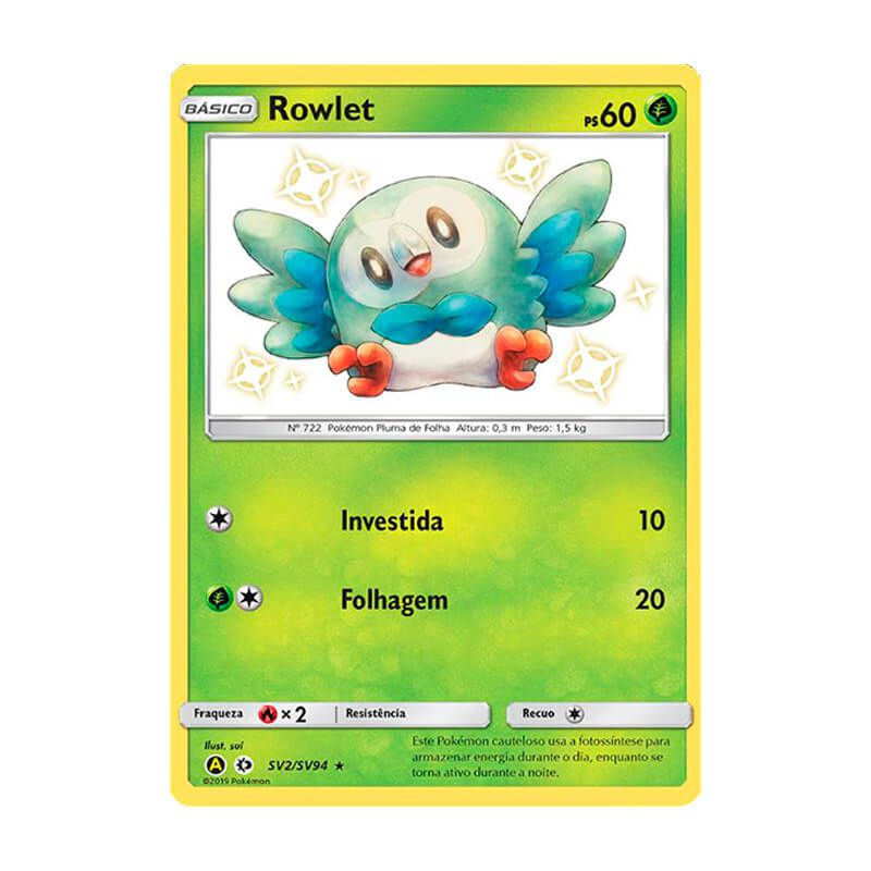 Pokémon TCG: Rowlet (SV2/SV94) - SM11.5 Destinos Ocultos