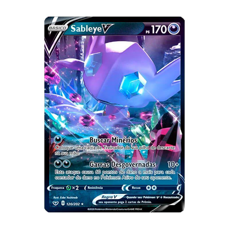 Pokémon TCG: Sableye V (120/202) - SWSH1 Espada e Escudo