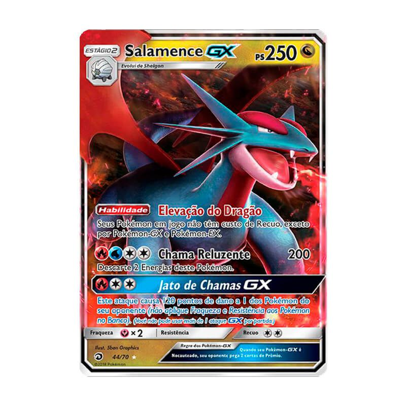Pokémon TCG: Salamence GX (44/70) - SM7.5 Dragões Soberanos
