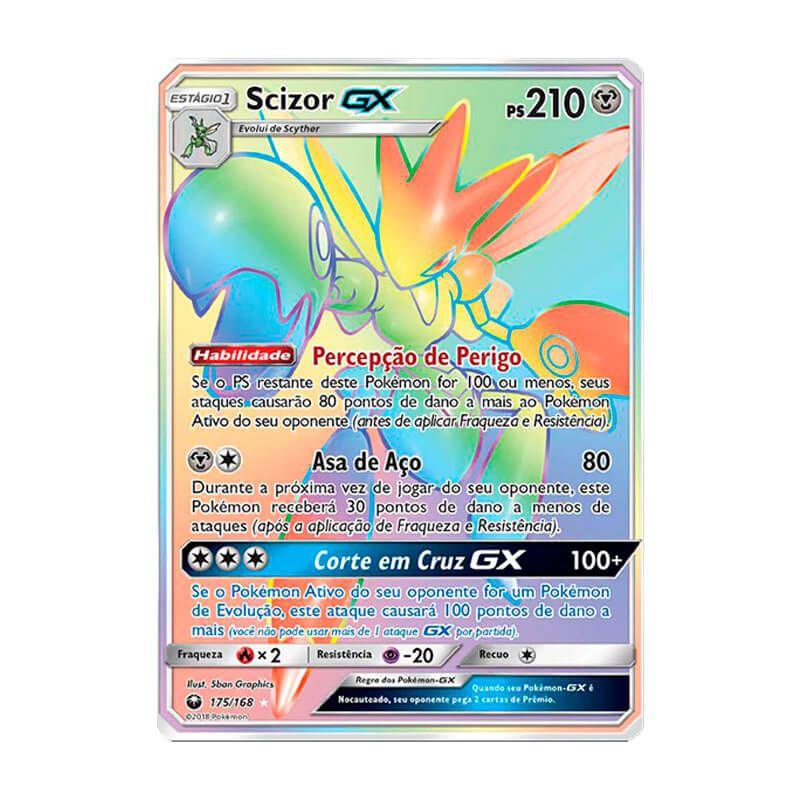 Pokémon TCG: Scizor GX (175/168) - SM7 Tempestade Celestial