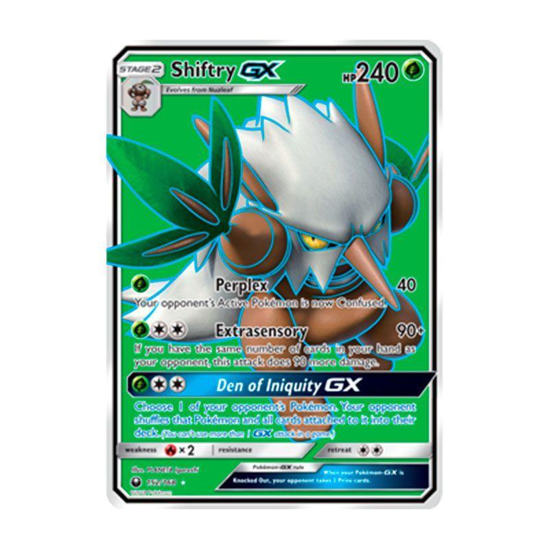 Pokémon TCG: Shiftry GX (152/168) - SM7 Tempestade Celestial