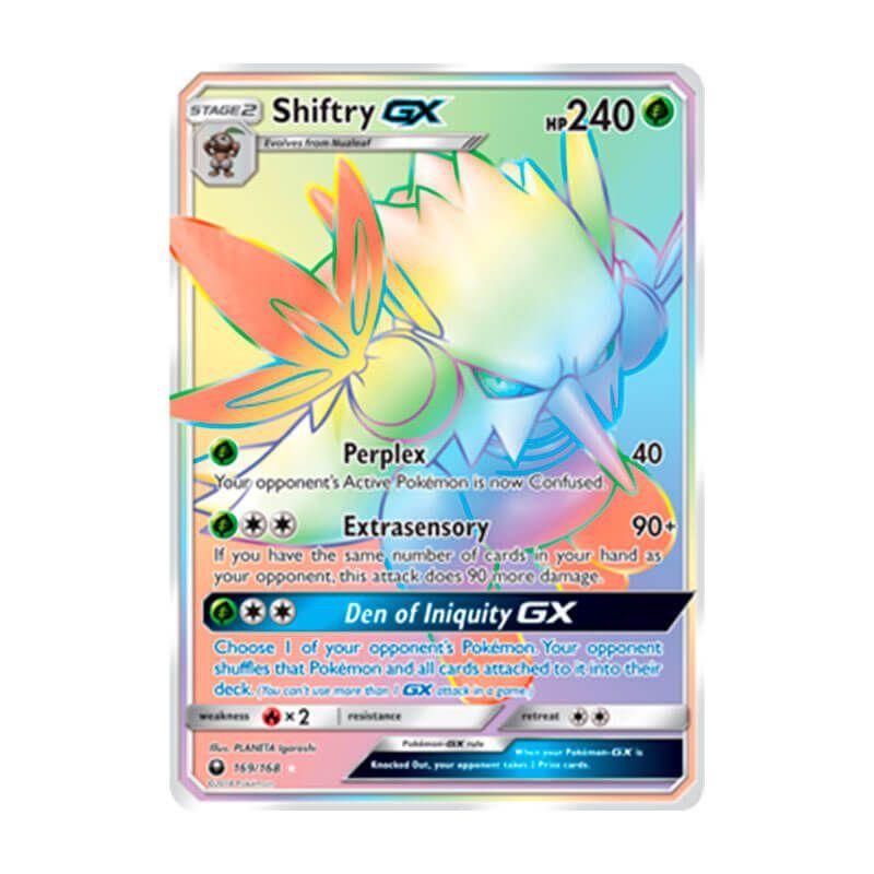 Pokémon TCG: Shiftry GX (169/168) - SM7 Tempestade Celestial
