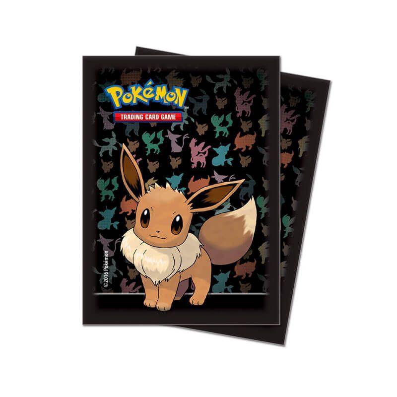 Sleeve Standard Oficial Ultra PRO - Pokémon TCG: Eevee (65 unidades)