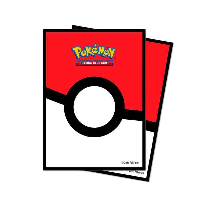 Sleeve Standard Oficial Ultra PRO - Pokémon TCG: Poké Ball (65 unidades)