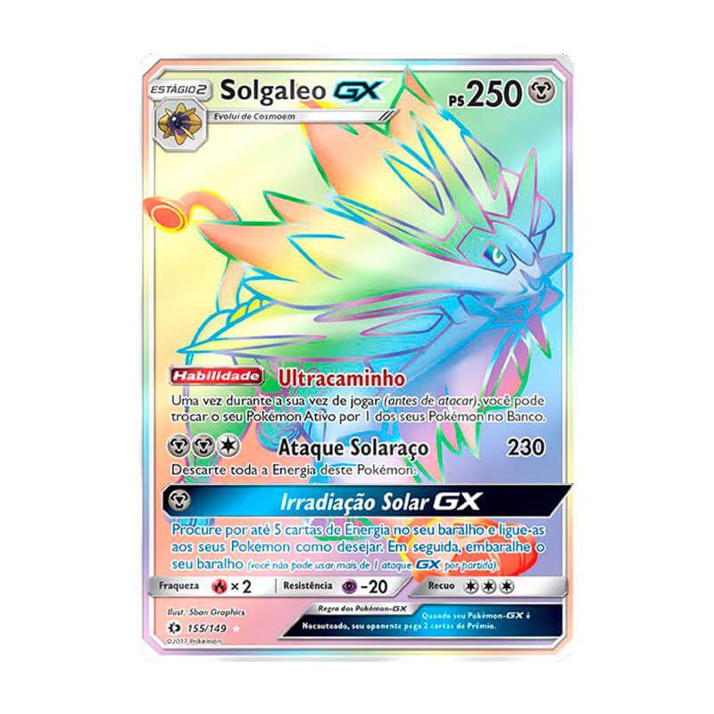 Pokémon TCG: Solgaleo GX (155/149) - SM1 Sol e Lua