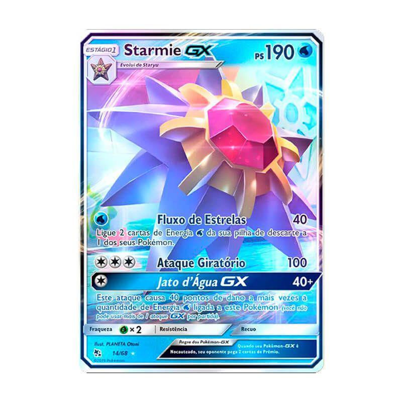 Pokémon TCG: Starmie GX (14/68) - SM11.5 Destinos Ocultos