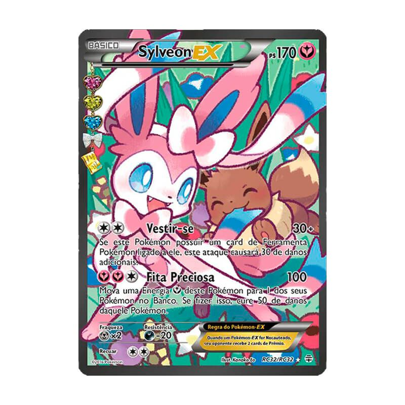 Pokémon TCG: Sylveon EX (RC32/RC32) - Gerações
