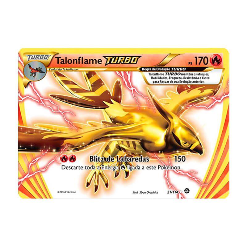 Pokémon TCG: Talonflame TURBO (21/114) - XY11 Cerco de Vapor