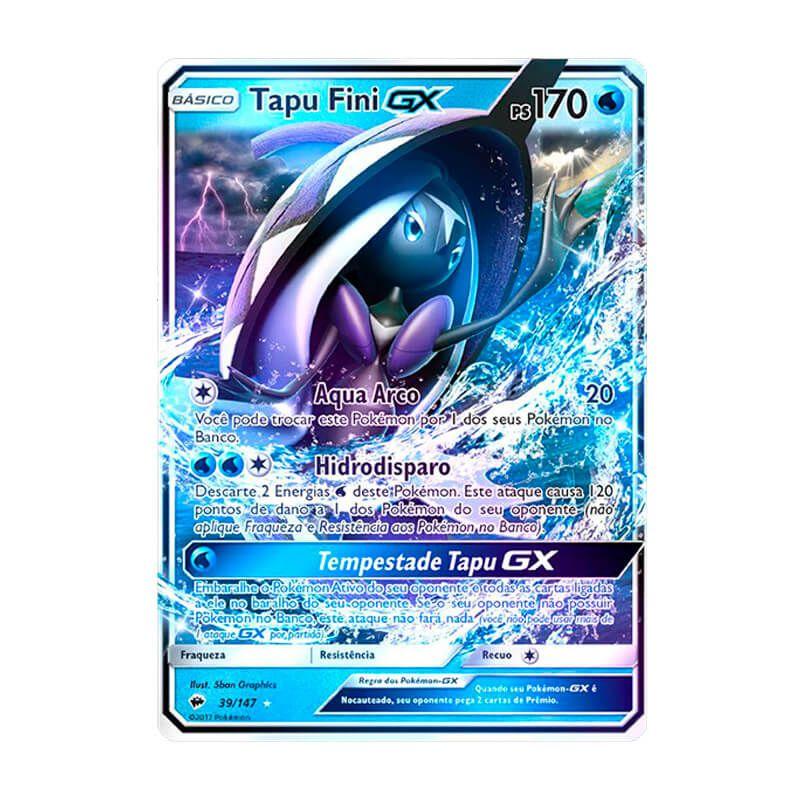 Pokémon TCG: Tapu Fini GX (39/147) - SM3 Sombras Ardentes
