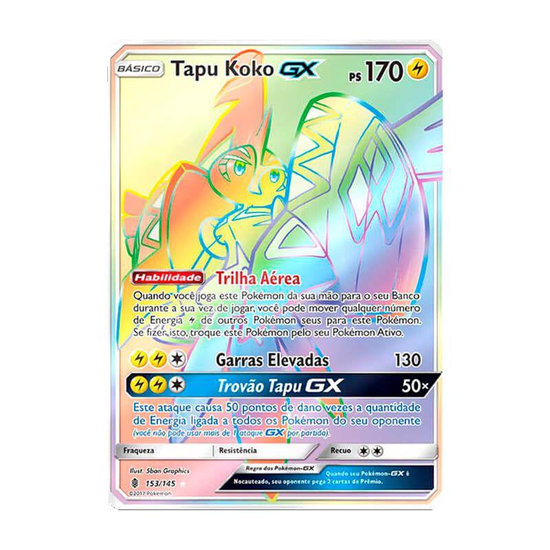 Pokémon TCG: Tapu Koko GX (153/145) - SM2 Guardiões Ascendentes
