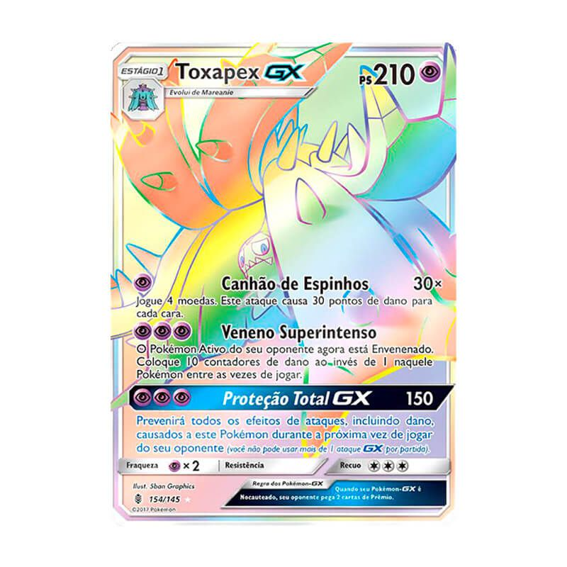 Pokémon TCG: Toxapex GX (154/145) - SM2 Guardiões Ascendentes