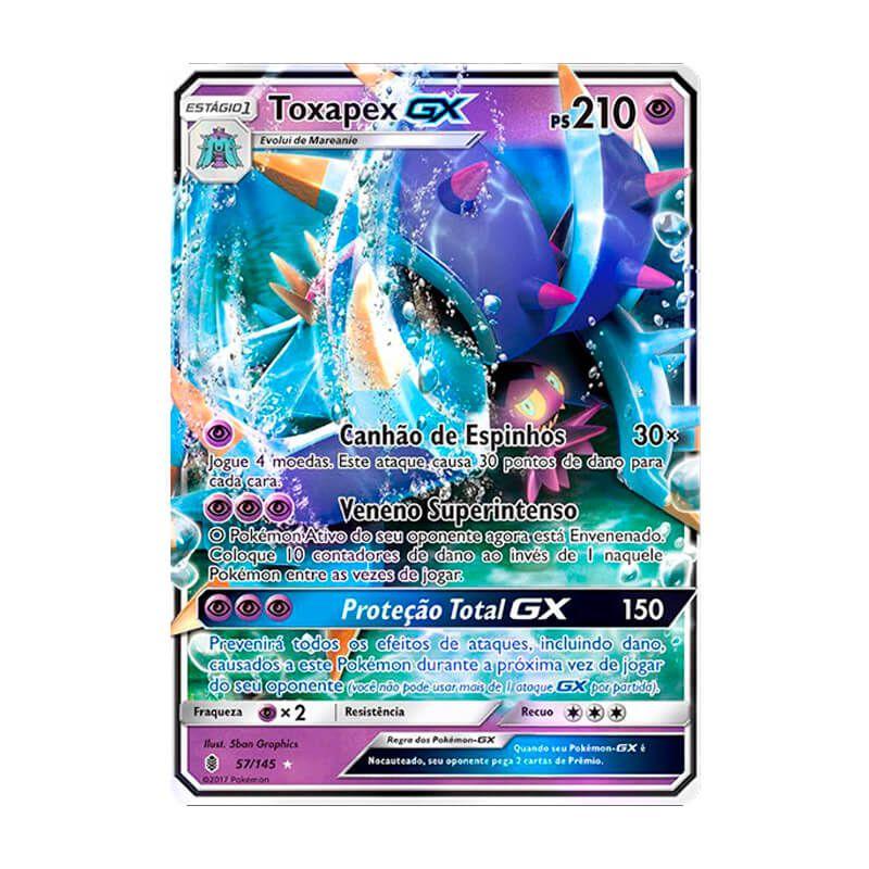 Pokémon TCG: Toxapex GX (57/145) - SM2 Guardiões Ascendentes