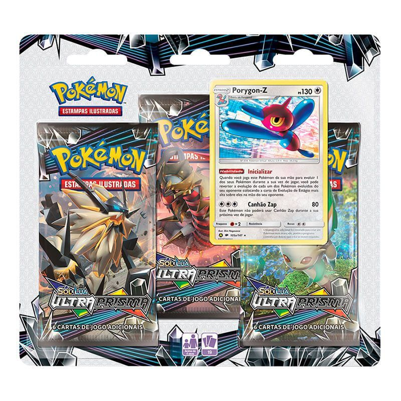 Pokémon TCG: Triple Pack SM5 Ultra Prisma - Porygon-Z
