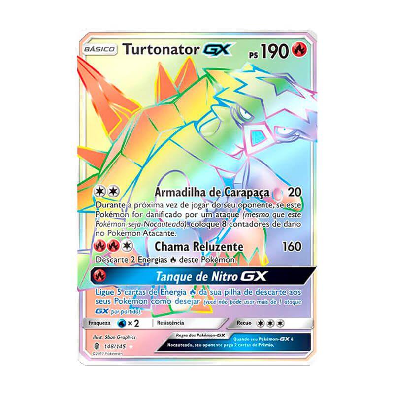 Pokémon TCG: Turtonator GX (148/145) - SM2 Guardiões Ascendentes