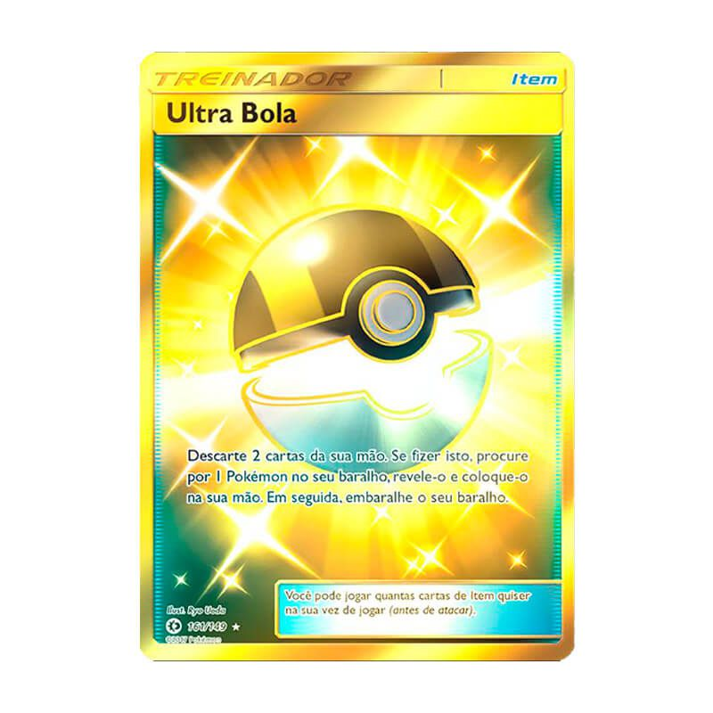 Pokémon TCG: Ultra Bola (161/149) - SM1 Sol e Lua