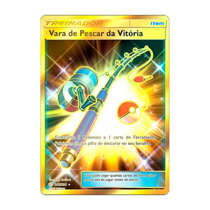 Pokémon TCG: Vara de Pescar da Vitória (266/236) - SM12 Eclipse Cósmico