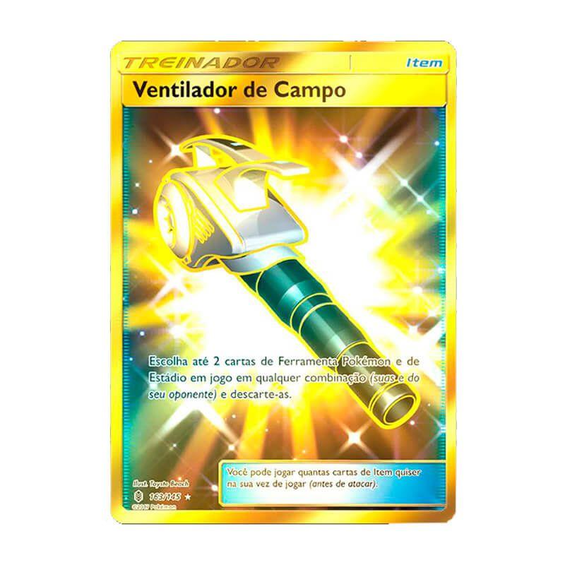 Pokémon TCG: Ventilador de Campo (163/145) - SM2 Guardiões Ascendentes