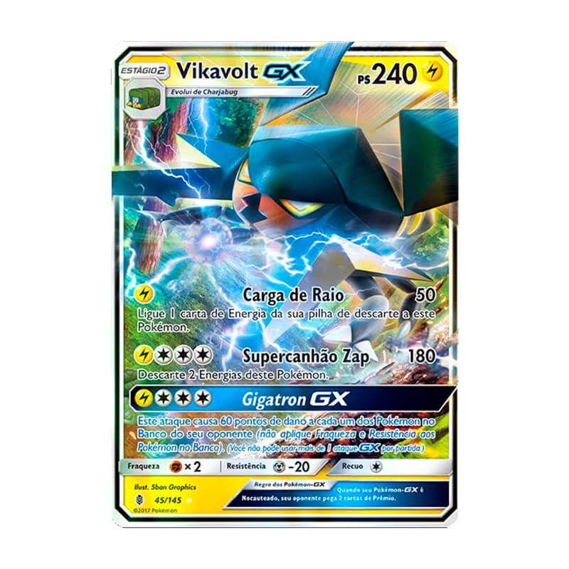 Pokémon TCG: Vikavolt GX (45/145) - SM2 Guardiões Ascendentes