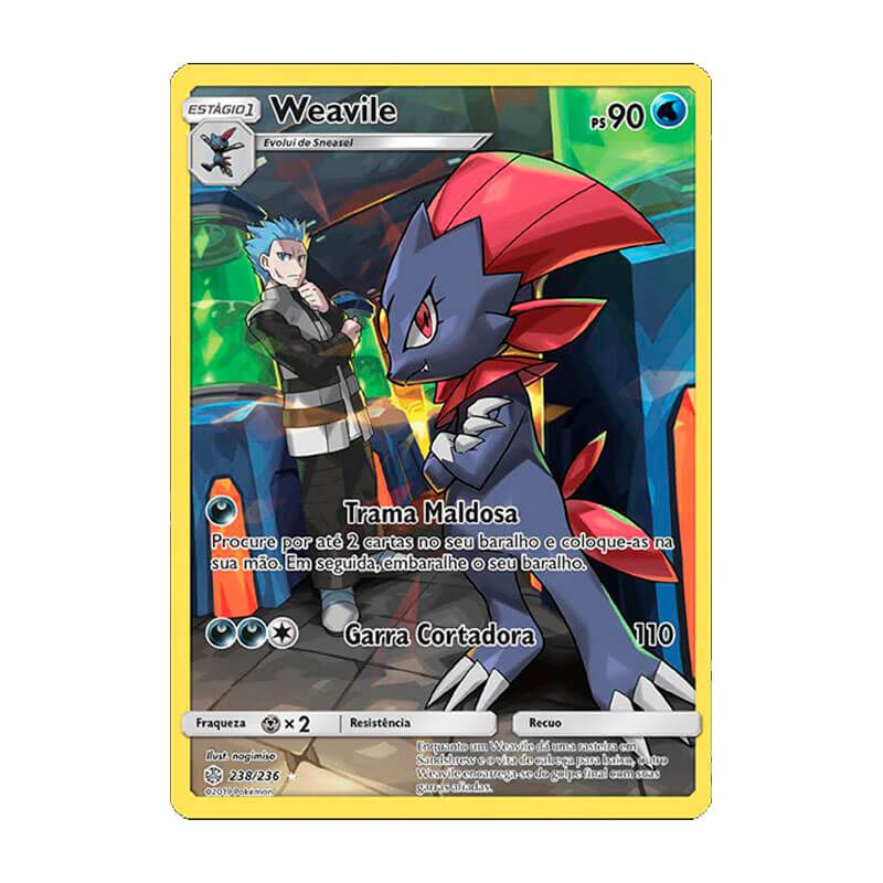 Pokémon TCG: Weavile (238/236) - SM12 Eclipse Cósmico