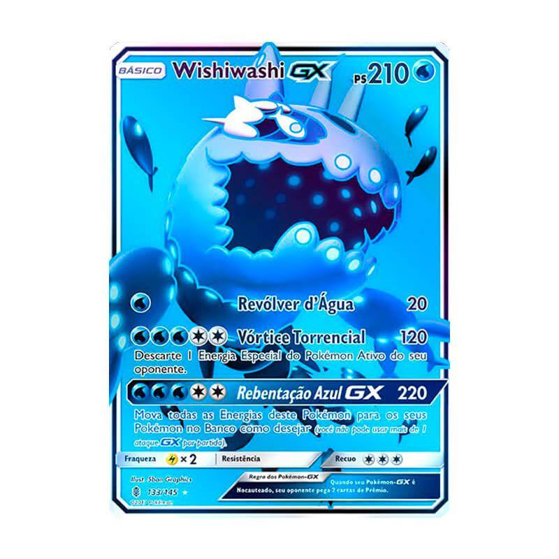 Pokémon TCG: Wishiwashi GX (133/145) - SM2 Guardiões Ascendentes