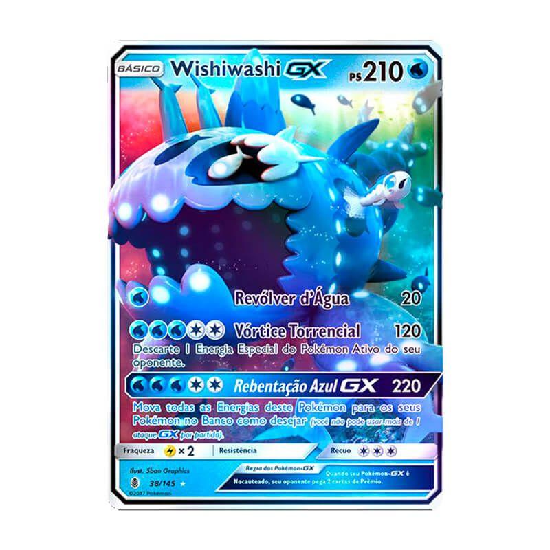 Pokémon TCG: Wishiwashi GX (38/145) - SM2 Guardiões Ascendentes