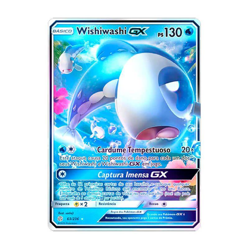 Pokémon TCG: Wishiwashi GX (63/236) - SM12 Eclipse Cósmico