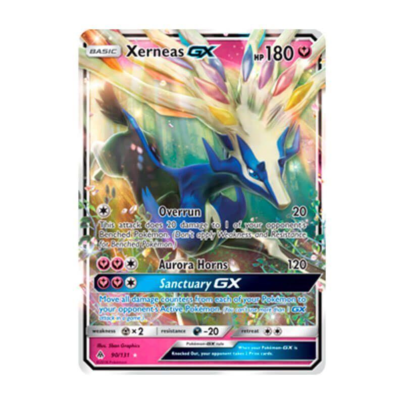 Pokémon TCG: Xerneas GX (90/131) - SM6 Luz Proibida