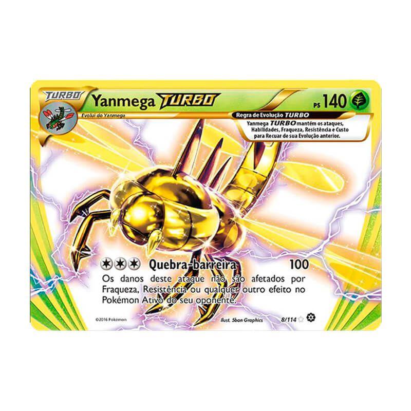 Pokémon TCG: Yanmega TURBO (8/114) - XY11 Cerco de Vapor