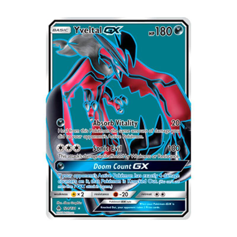 Pokémon TCG: Yveltal GX (124/131) - SM6 Luz Proibida