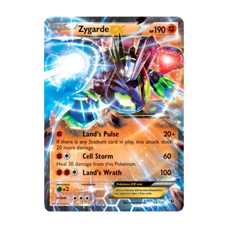 Pokémon TCG: Zygarde EX (54/124) - XY10 Fusão de Destinos