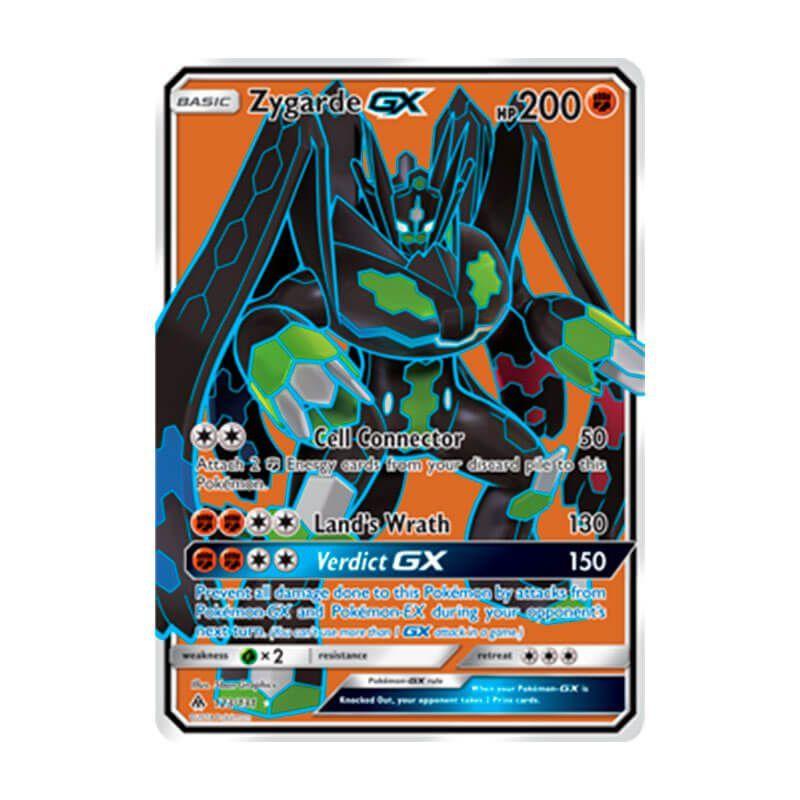Pokémon TCG: Zygarde GX (123/131) - SM6 Luz Proibida