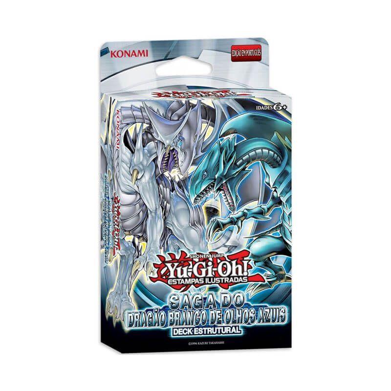 Yu-Gi-Oh! Deck Estrutural - Saga do Dragão Branco de Olhos Azuis