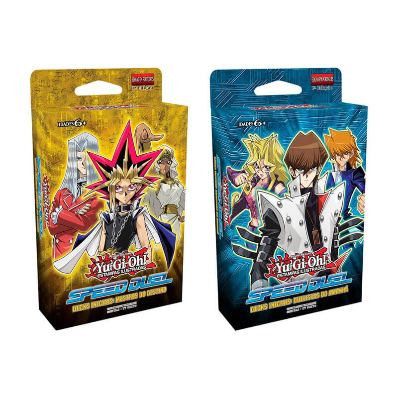 Yu-Gi-Oh! Speed Duel - Decks Iniciais: Mestres do Destino + Duelistas do Amanhã