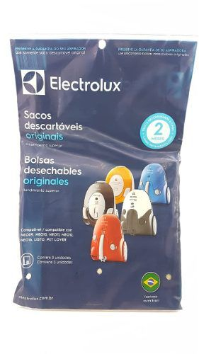 Saco Aspirador Electrolux C/3 Neo09/10/11/12/16 Listo
