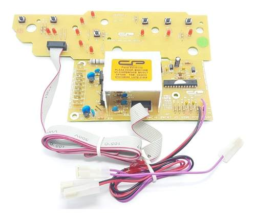 Placa Potência Interface Brastemp Bwc10ab V.2 Bivolt Cp1446