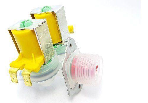 Válvula Dupla Lavadora Electrolux 127v Lf75 Lte09 64287483