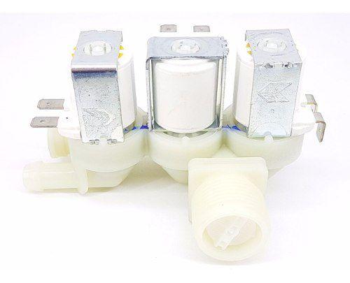 Válvula Água Electrolux Tripla 220v Lt15f Orig 64287507