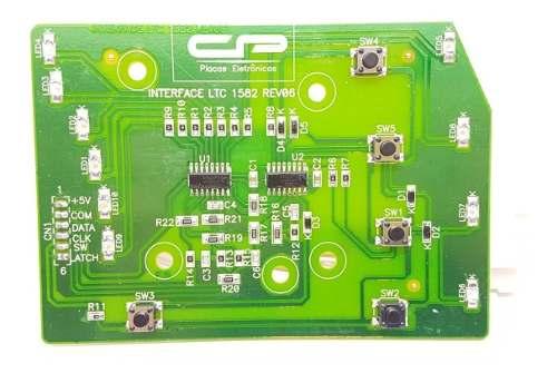 Placa Interface Electrolux Ltc10 Ltc15 Lt15f 64500135 Cp1435