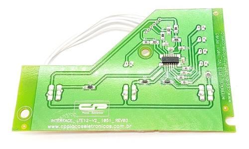 Placa Interface Electrolux Lte12 64503081 Cp1458