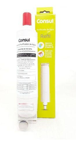 Filtro Refil Purificador Água Consul - Original W10301562