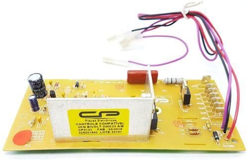 Controle Eletrônico Comp. Lavadora Cwc22a/b Bivolt Cp0125